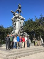 The team in Punta Arenas.
