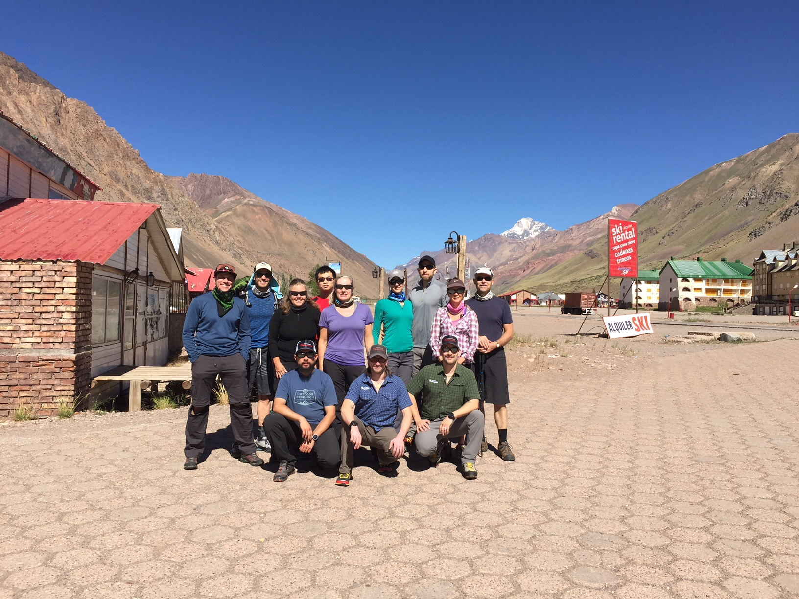 Josh and Team at Penitentes