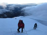 High on Cayambe