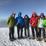 Summit! part of the team on Cayambe