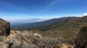 Mt. Meru and Shira Ridge (Photo: Dustin Balderach)