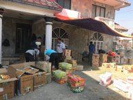 IMG Everest sherpa cooks packing food in Kathmandu (Ang Jangbu)
