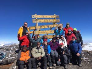 On the Summit of Kilimanjaro