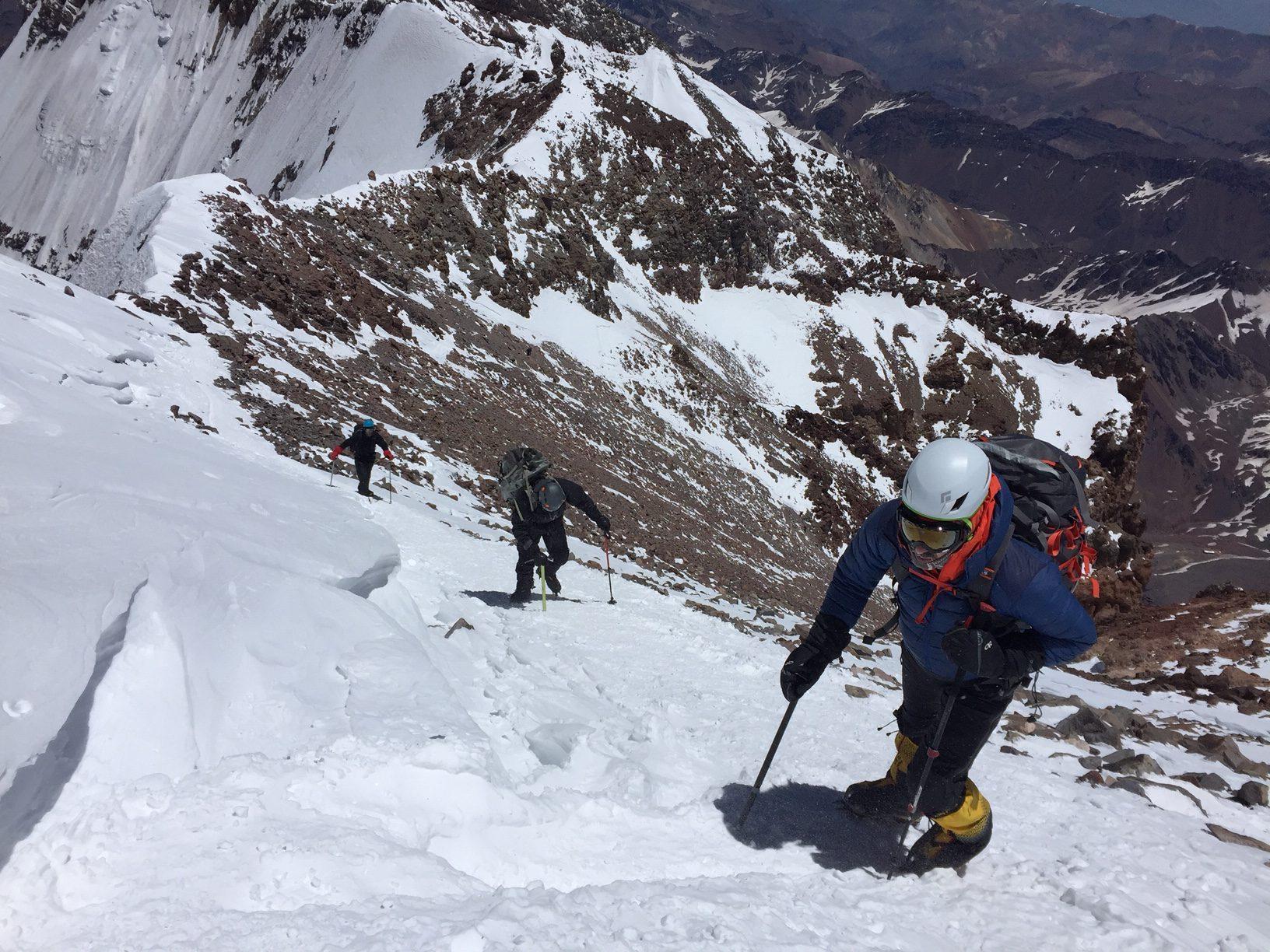 Summit push.