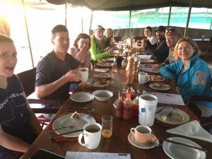 Breakfast on the Serengeti (photo: Emily Johnston)
