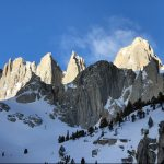 Mt. Whitney on the right (Photo by George Dunn)