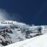 Climbing up toward Thumb Rock (Photo: Austin Shannon)
