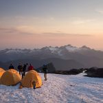 Sunset on Mt. Baker (photo: Charles Peterson)