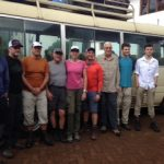 Kili team on their Moshi exploration (Craig John)