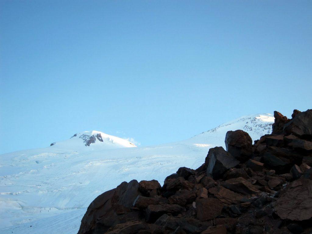 Elbrus, West Summit is on the left