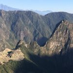 Looking Down at Machu Picchu from the Sun Gate (Peter Anderson)