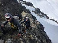 Happy climbers. (Jonathan Schrock)