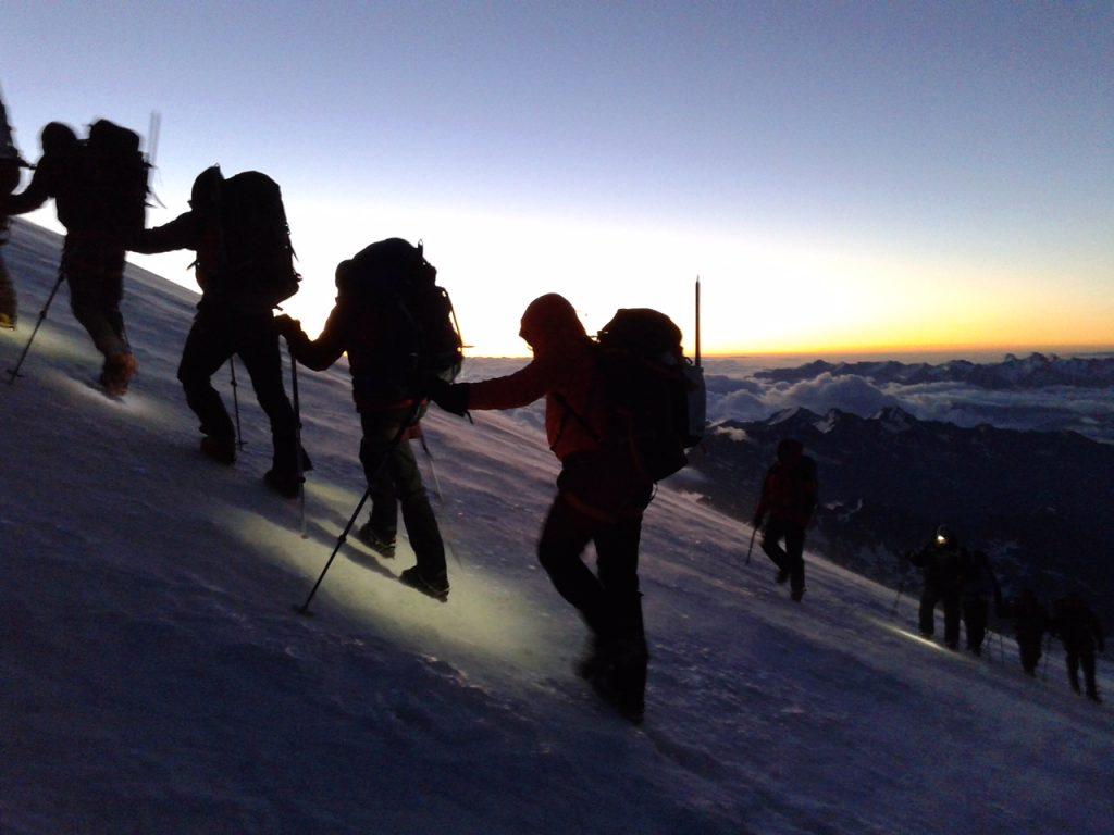Sunrise at Elbrus (Jonathan Schrock)