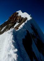 The summit ridge of Huayna Potosi (Greg Vernovage)