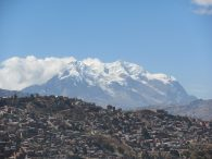 Illimani with La Paz in the Foreground (Greg Vernovage)
