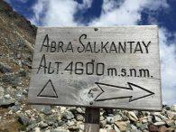 Salkantay Sign