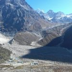Khare with Mera La (Phinjo Sherpa)
