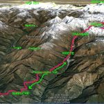 Mera Peak Route (Compliments of Google Maps)