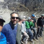 Phinjo Sherpa working the selfie along with the IMG Mera Peak Team (Phinjo Sherpa)