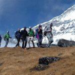 Trekking towards Khare (Phinjo Sherpa)