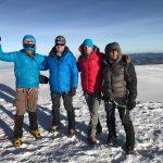 Team on the Summit of Chimborazo