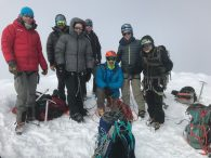 Team on summit of Cayambe – 19,000'