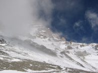 Aconcagua through the Clouds