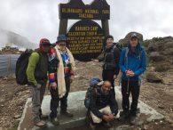 Barranco Camp Sign (Phunuru Sherpa)
