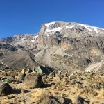 Kili from Barranco Camp (Dustin Balderach)