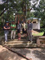 Phunuru and the Climbers at Machame Gate (Phunuru Sherpa)