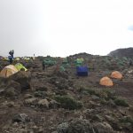 Tents at Barranco Camp (Phunuru Sherpa)
