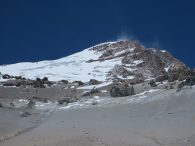 Cerro Aconcagua and the Polish Glacier (Peter Bilodeau)