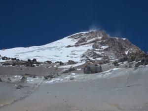 Cerro Aconcagua and the Polish Glacier (Peter Bilodeau)