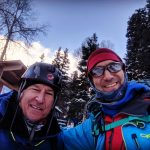 Eric and Don wrapping up Four days in Ouray (Eric Remza)