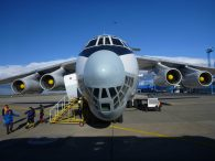 IL76 at the Airport in Punta Arenas, Chile (Greg Vernovage)