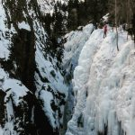 Ouray Ice in Great Shape for our Ouray Veteran's Seminar (Eric Remza)