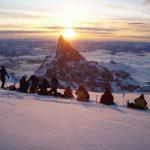 Winter Sunrise over Little Tahoma