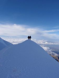 Route Finding on Cayambe (Phil Ershler)