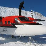 Twin Otter at Vinson Base Camp (Phil Ershler)