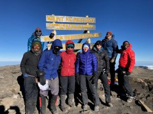 Kili Team Reaches the Top (Tye Chapman)