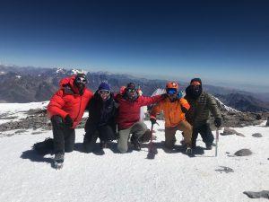 Luke and Team on the Summit (Luke Reilly)