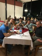 Team Dinner, All Smiles! (Tye Chapman)