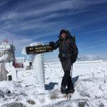 Patrick on Mt. Washington (Craig John)