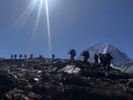 Trekking above Pheriche (Ang Jangbu Sherpa)