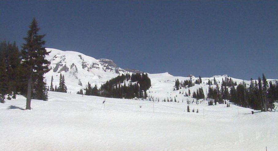 Mt. Rainier National Park Webcam View (4.23.18)