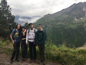 Acclimatization Hike  (Sasha Sak)