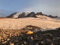 Sunrise on the flanks of Rainier (Patrick Mauro)