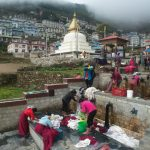 Arriving to Namche (Romulo Cardenas)