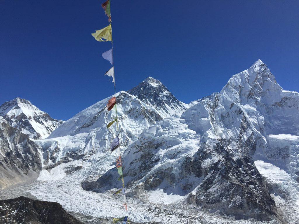 Everest from Kala Pattar (Harry Hamlin)