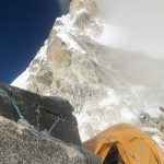 Looking at the Yellow Tower on Ama Dablam (Austin Shannon)